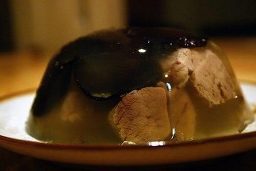Món ngon ngày Tết: Thịt nấu đông